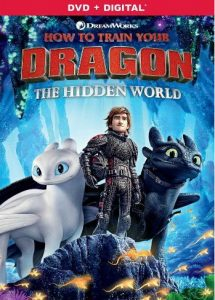 DVD How to train your dragon 3