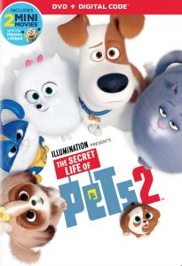 DVD Secret life of pets 2