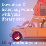 libby in car