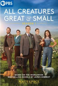 DVD All creatures great and small