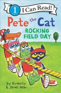 Pete the cat rocking field day
