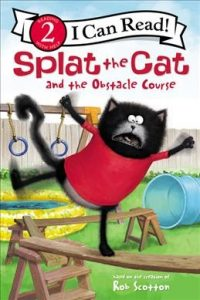 Splat the cat and the obstacle